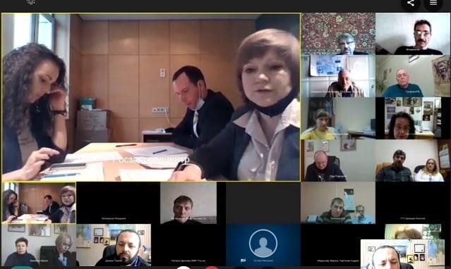 Заседание секции экспертов
